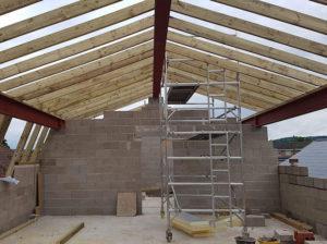 Mansard Roof Installation