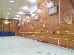 Sports Hall Heating