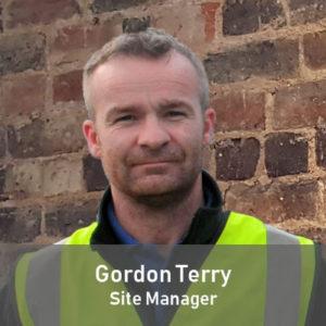 Gordon Terry Site Manager
