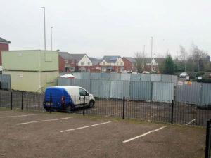 Building Contractors demolish Dudley counselling centre