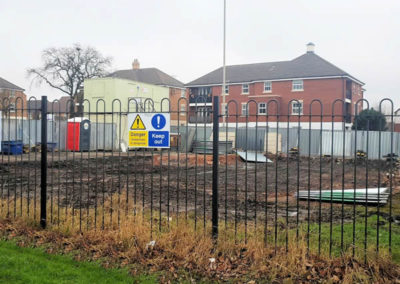Demolition of Dudley Counselling Centre