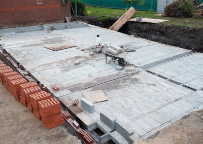 Beam and Block Floor for Doctors Surgery