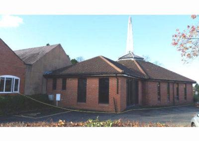 We begin the Church Construction