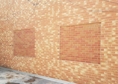 Brick Window Panels to walls
