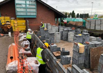 Bricklayers Build Drs Surgery