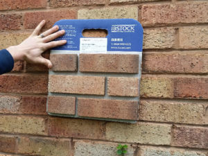 Making sure bricks match the existing wall - Brick Matching is the proper term