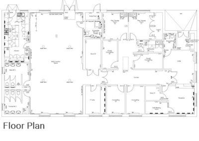 Dudley Community Centre Floor Plan