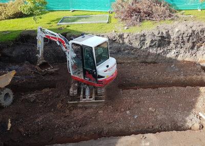 Groundworks contractor