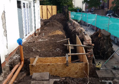 Groundworks for care home