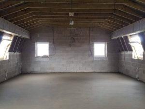 Mansard Roof creates space