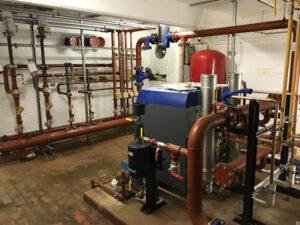 School Boiler Installation