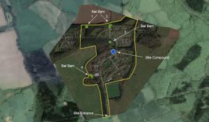 Lea Castle Hospital Site Map