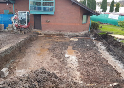 Trench Fill Foundations
