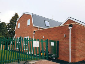 Local construction company completes church build