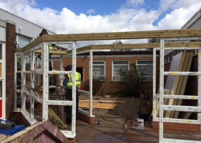 external refurbishment and fit out schools