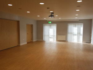 Fitout company completes main hall