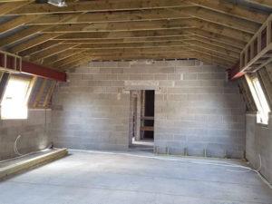 Mansard Roof Structure