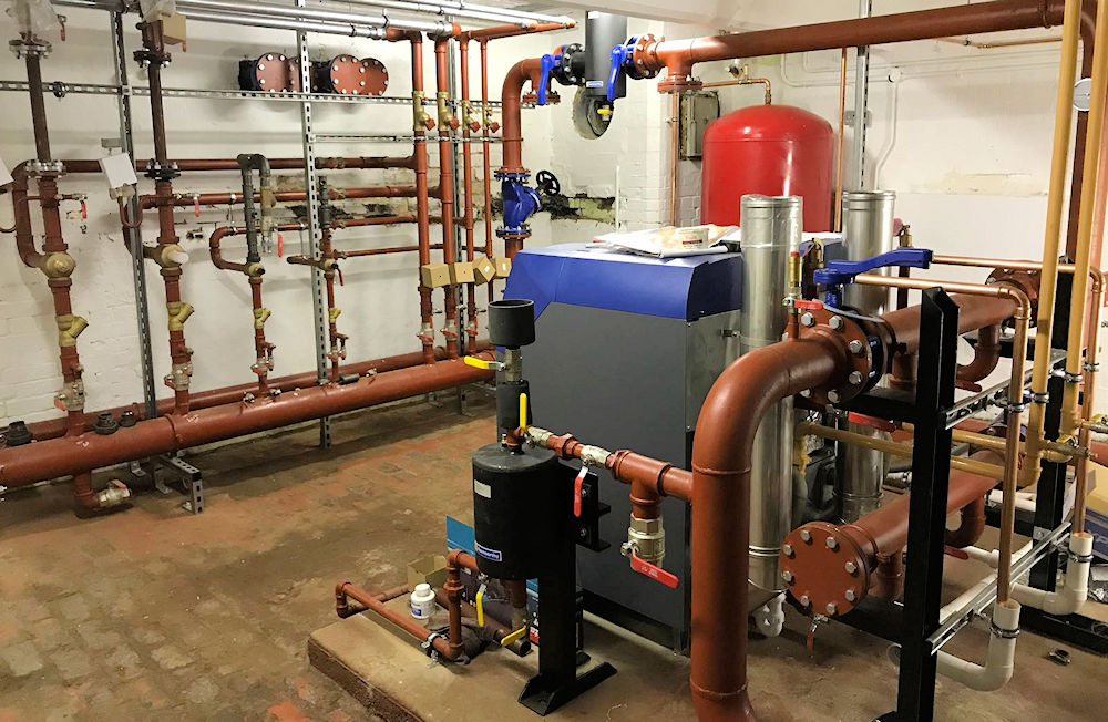 School Heating Systems fit by contractors